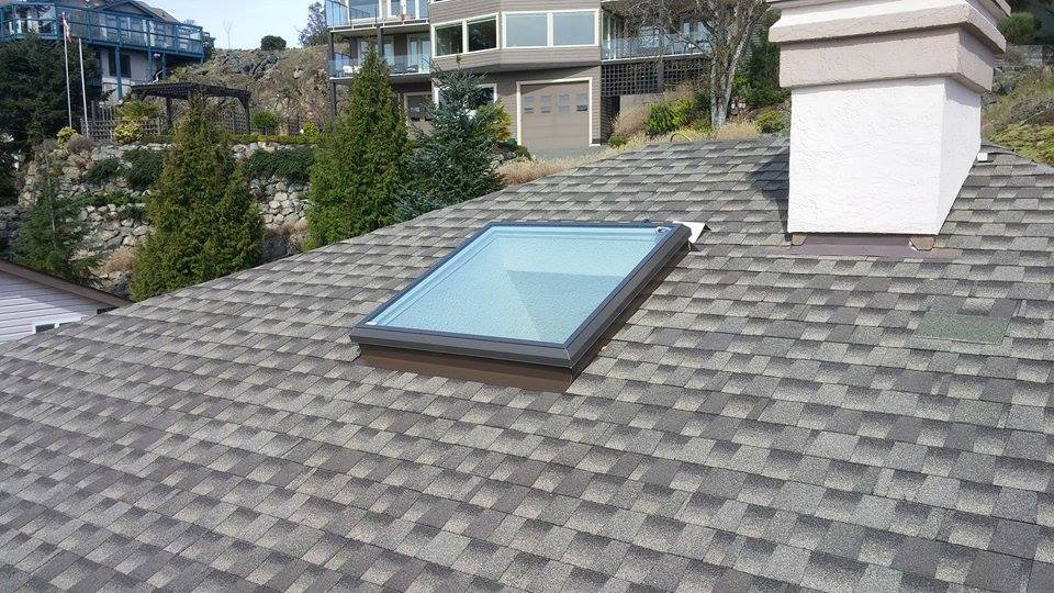 skylight on the roof | Army Roofing Inc.
