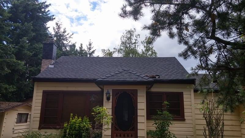 completed project on the roof | Army Roofing Inc.