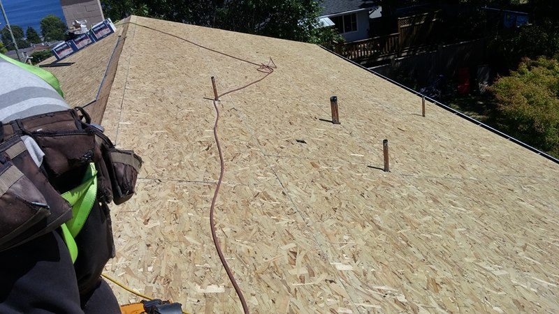 wooden roof | Army Roofing Inc.