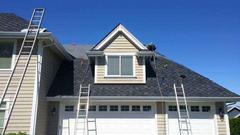 example of completed work in Delta | Army Roofing Inc.