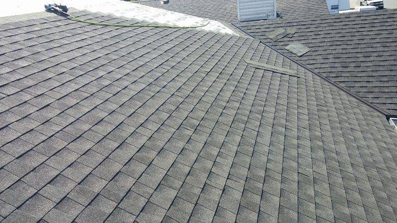 roofing pattern completed work | Army Roofing Inc.