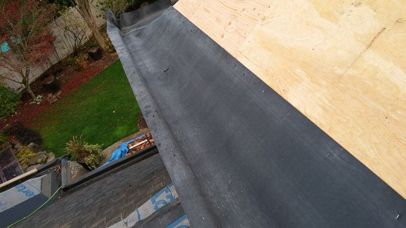 first layout Roofing services Delta 2 | Army Roofing Inc.
